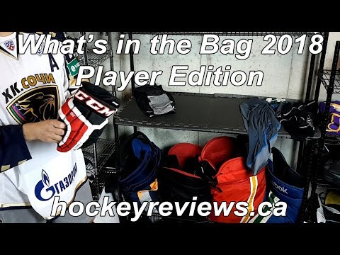 What's In The Hockey Gear Bag? Player Equipment Overview Edition