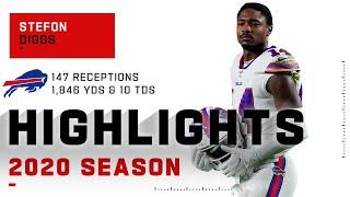 Stefon Diggs Full Season Highlights