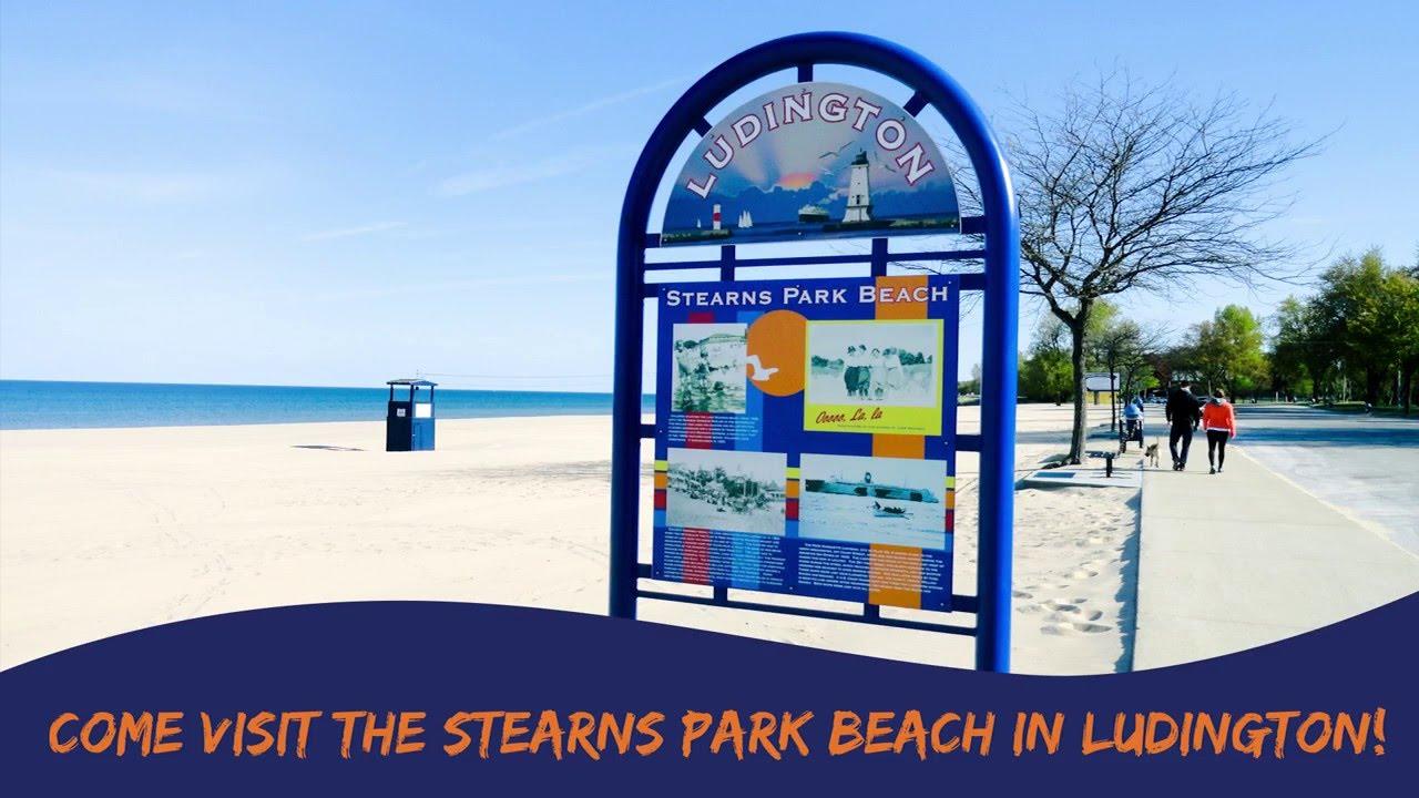 Stearns Park Beach Ludington Mi