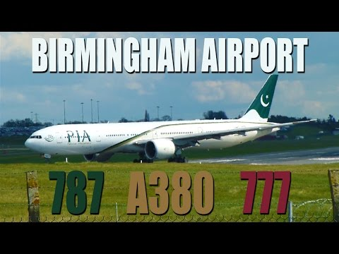 Planespotting at Birmingham Airport - Amazing planes!!!