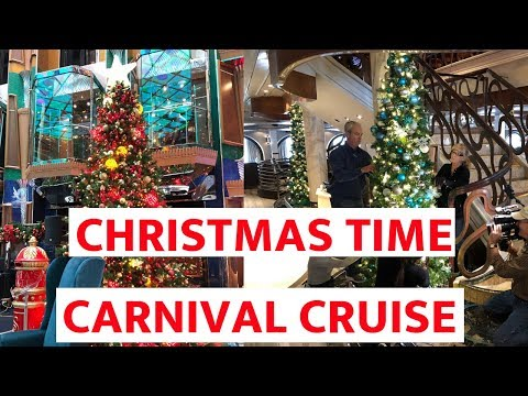 Christmas Carnival Cruise.How Carnival Decorates 26 Cruise Ships For Christmas Photos