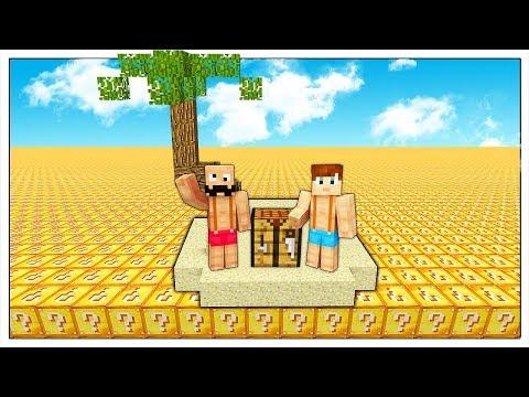 SI PUÒ SOPRAVVIVERE IN UN MARE DI LUCKY BLOCK? - Minecraft ITA thumbnail