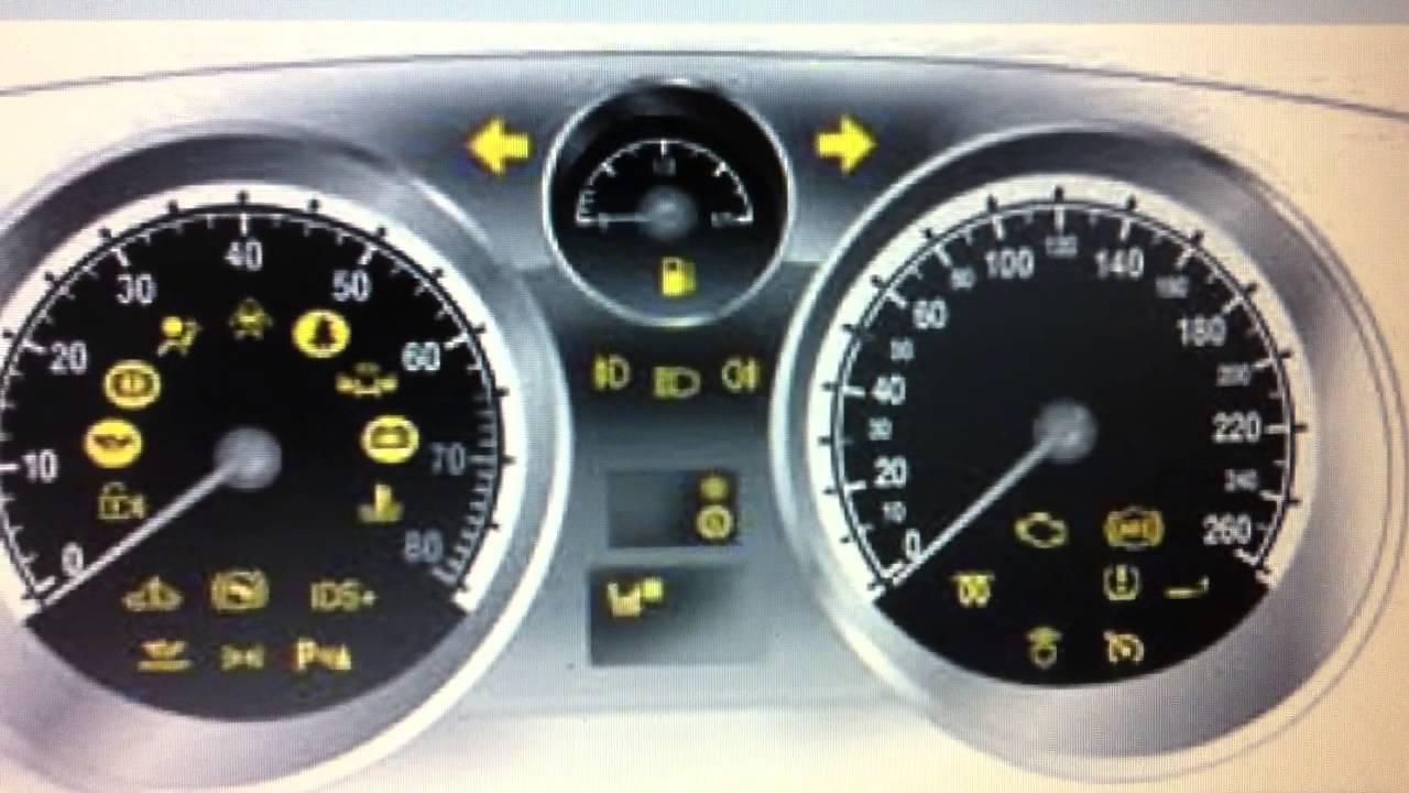 Vauxhall Zafira Dashboard Warning Lights Symbols Diagnostic Scanners Here You