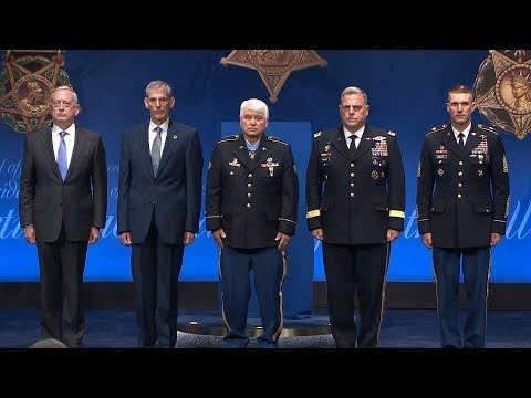 Spc. 5 James C. McCloughan: Pentagon Hall of Heroes Induction Ceremony