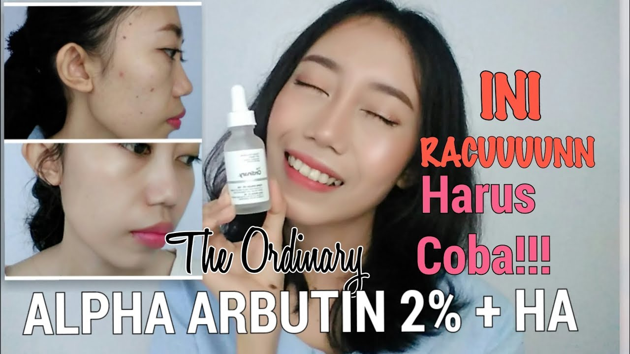The Ordinary Alpha Arbutin 2 Ha Review Bahasa Novie Marru Youtube