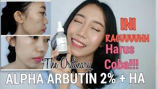The Ordinary Alpha Arbutin 2 Ha Review Bahasa Novie Marru Youtube