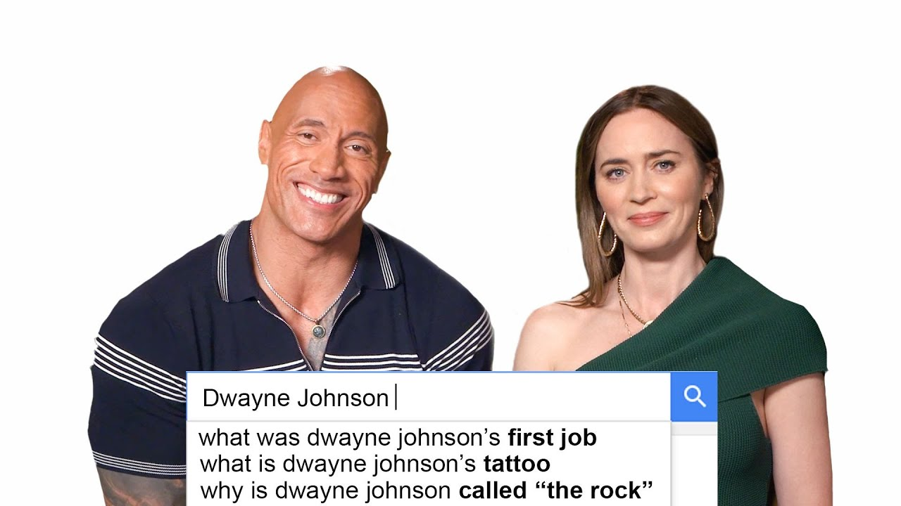 Download Emily Blunt & Dwayne Johnson Answer The Web's Most Searched Questions | WIRED