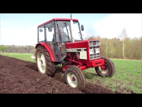 IHC International 633, Bestseller Der IHC Tractoren !!! Pflugeinsatz!!