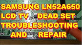 EASY HOW TO FIX SAMSUNG TV- NO POWER - YouTube