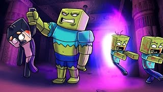 Minecraft | The Forest - PORTAL SUMMONS MUTANT ZOMBIE! (Zombie Survival) #8