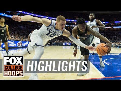 Villanova vs Georgetown   HIGHLIGHTS   FOX COLLEGE HOOPS