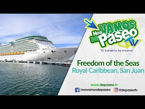 Tour Virtual Crucero Freedom of the Seas, Royal Caribbean, San Juan, PR