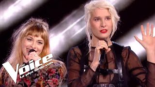 Eurythmics (Sweet dreams) | B. Demi-Mondaine vs Luna Gritt | The Voice France 2018 | Duels
