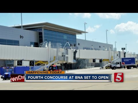 Nashville International Airport To Open Fourth Concourse This Week