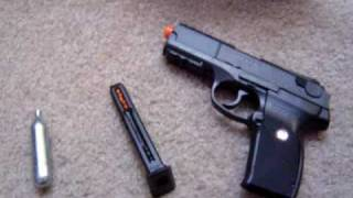 Ruger P345 Co2 Airsoft Pistol Review