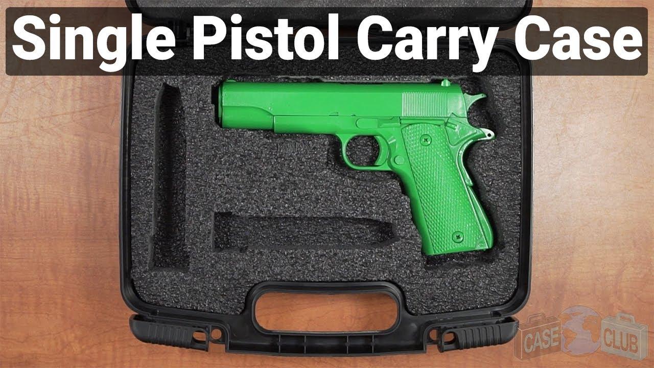 Single Pistol Carry Case - Video