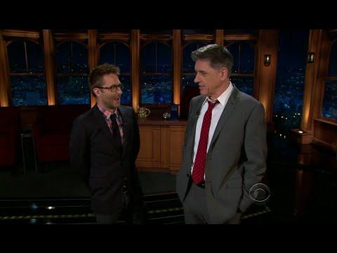 Late Late Show with Craig Ferguson 10/7/2011 Jason Schwartzman, Eliza Coupe