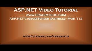 Asp net custom server controls   Part 112