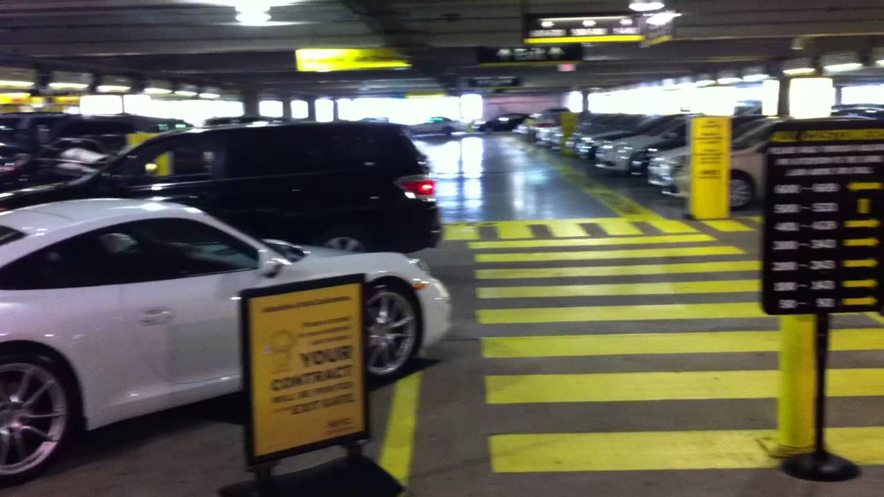 Rental Car Return At Fll