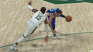 NBA 2K19 My Career EP 75 - Warriors Swept By Spurs! SFG4