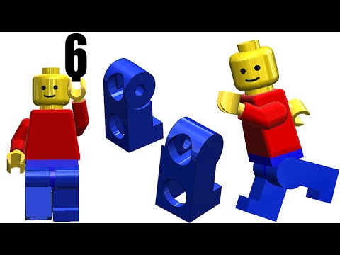 6-SolidWork |Toy Man|: Legs (left & right)