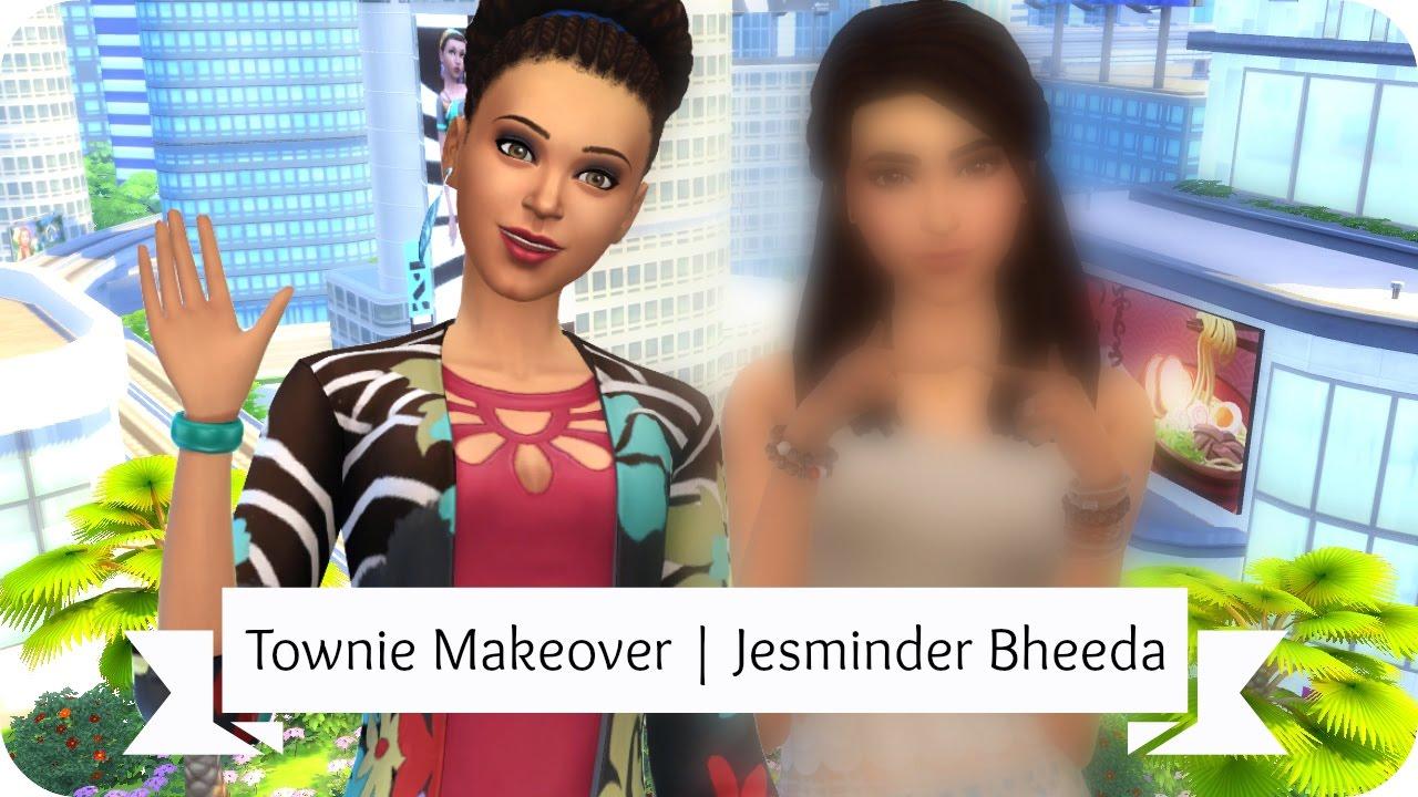 Sims 4 Townie Makeover | Jesminder Bheeda - Video - ViLOOK