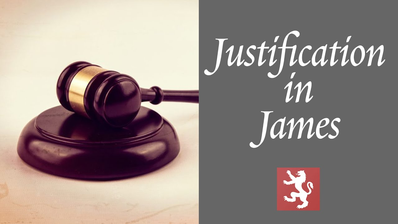 Justification in James