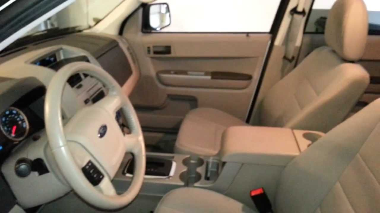 Lovely 2011 Ford Escape XLT Interior Tour   Test Drive   Dashboard, Gauges, Stereo    Galaxy S3   YouTube Awesome Design