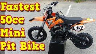 NRG50 50cc Proffesional Mini Dirt Bike 9hp Midi Size Dublin Ireland