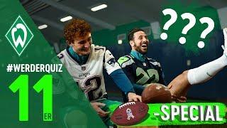 #WERDERQUIZ 11er Josh Sargent & Claudio Pizarro ***NFL Super Bowl Edition***  | SV Werder Bremen