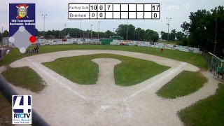 T & C 12U Semi State Baseball Game 10 - Fairfield Blue vs Bremen