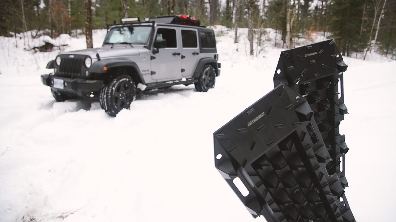 Speedmaster 4WD Roll Up Rubber Recovery Traction Track Sand Mud Snow Off Road