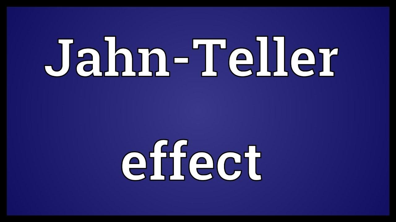 7: Jahn-Teller effect