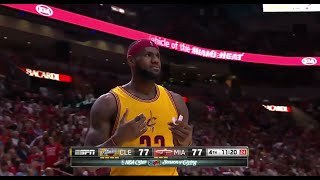 Gambar cover LeBron Huge Dunk + Technical Foul