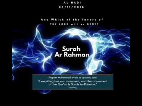 Surah Ar Rahman (Most Gracious)