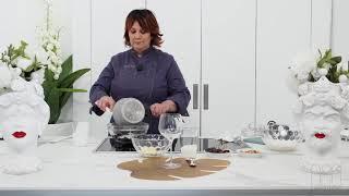 Chef Porzia Vitali a Casa del Teatro TV - Ricetta mousse veloce al cioccolato