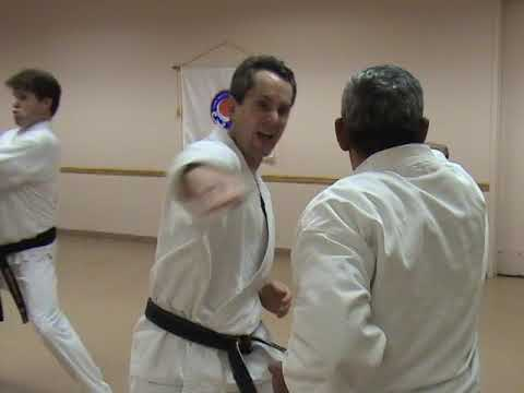 Basic Kumite Drills at Coconut Creek Karate
