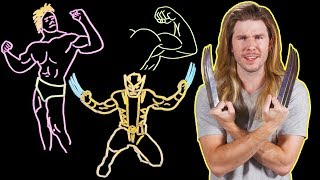 Would Wolverine Be the Ultimate Body Builder? (Because Science w/ Kyle Hill)