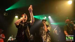 BONE THUGS-N-HARMONY : BUDSMOKERS ONLY - LIVE PERFORMANCE @ THE DOUBLE DOOR - CHICAGO, IL 8-26-2013