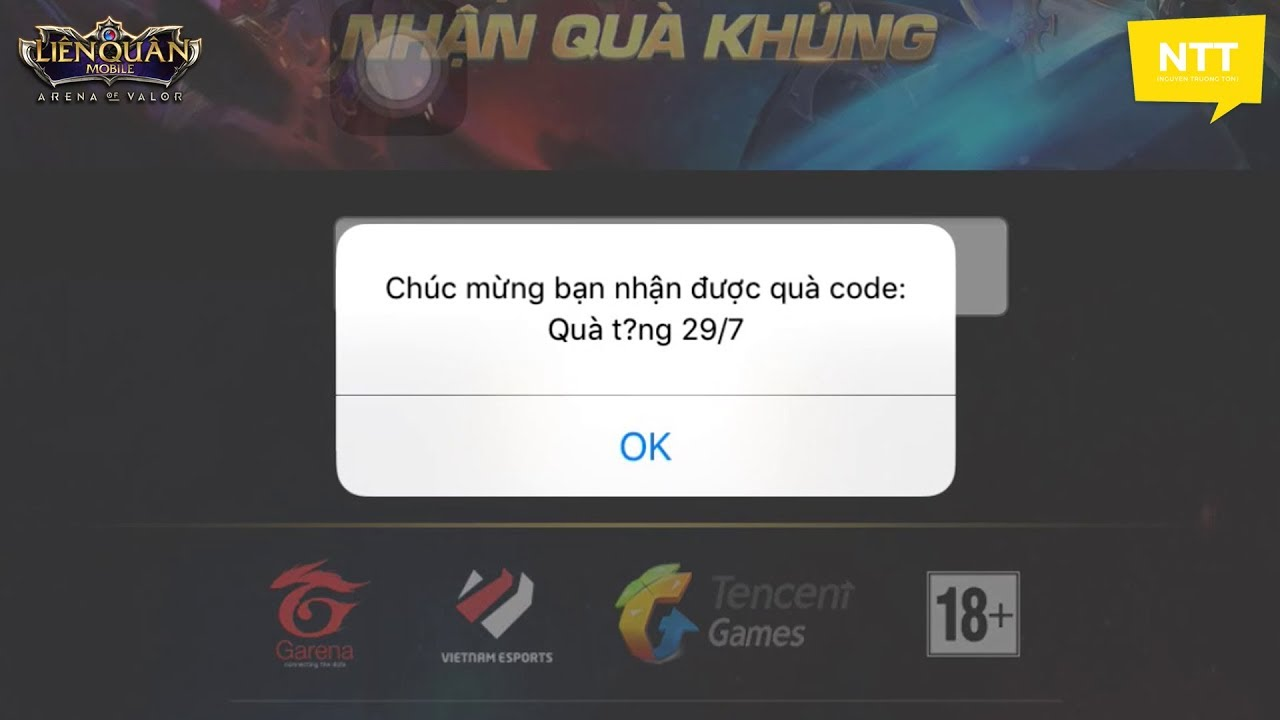 #29thang7 #lienquanmobile #giftcode