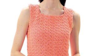 Crochet Top Summer Top S - XL