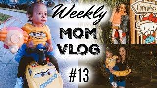 WEEKLY MOM VLOG #13 | TRICK OR TREATING WITH MY TODDLER | HALLOWEEN 2018 | CRUZ RAMIREZ CARS COSTUME