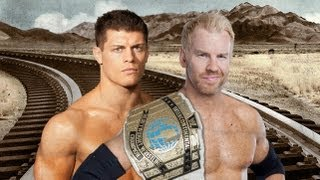 2012: WWE No Way Out Christian Vs. Cody Rhodes  - Highlights
