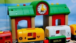 Wir bauen eine Bahnanlage. Videos für Kinder