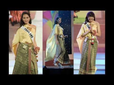 Thai women and Thai Traditional dress