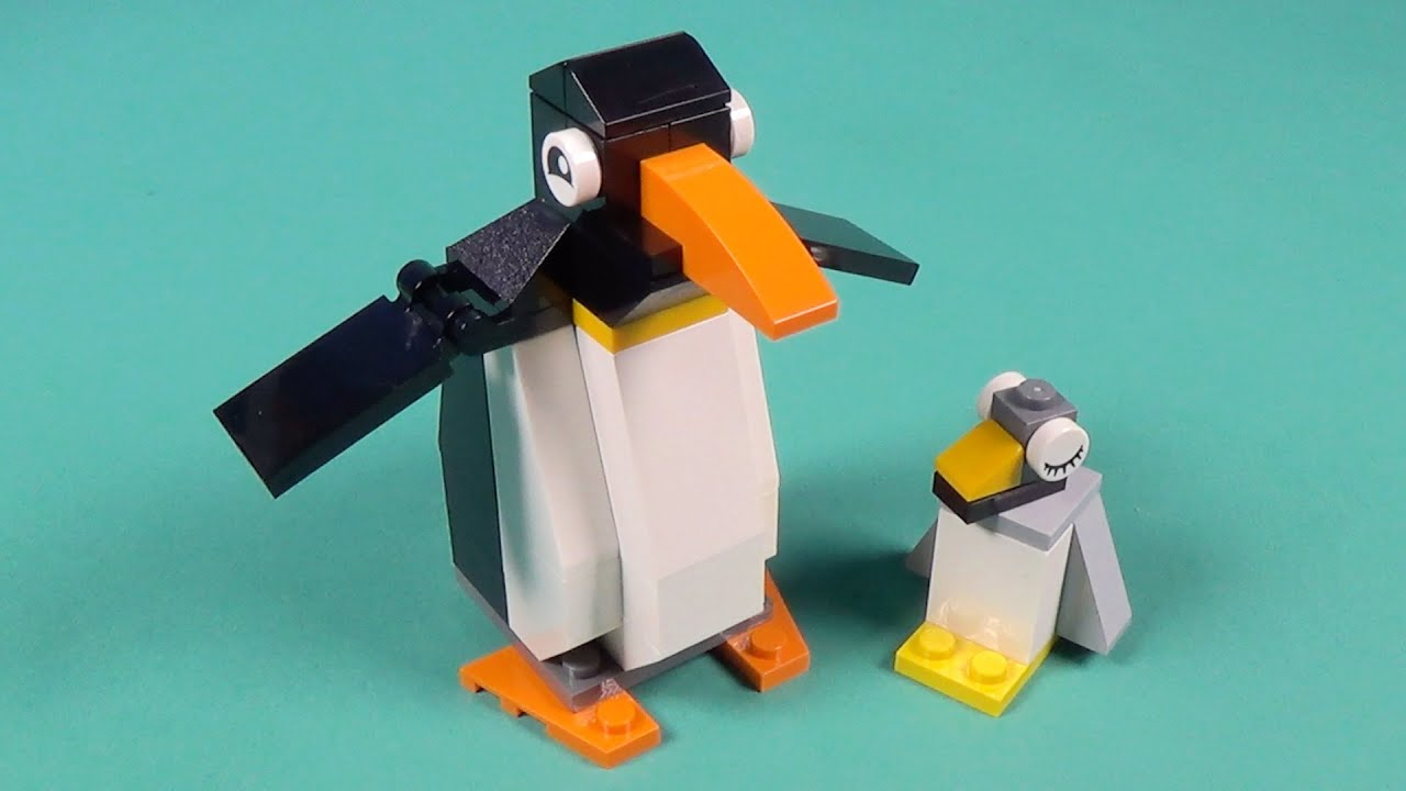 Lego Penguins Building Instructions Lego Classic 10695 How To