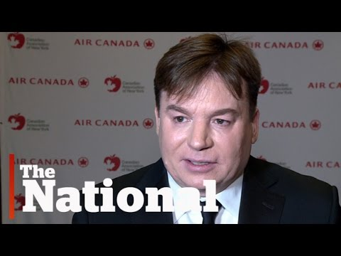 Mike Myers says comedy