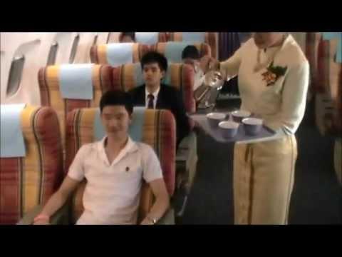 สายการบินมหาลัยสวนดุสิต Thai Identity Airlines.wmv