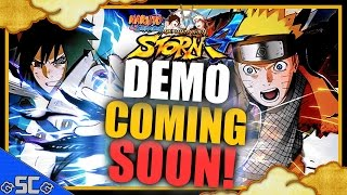 ●Mini News/Update - DEMO ANNOUNCED! COMING SOON! | NARUTO STORM 4●