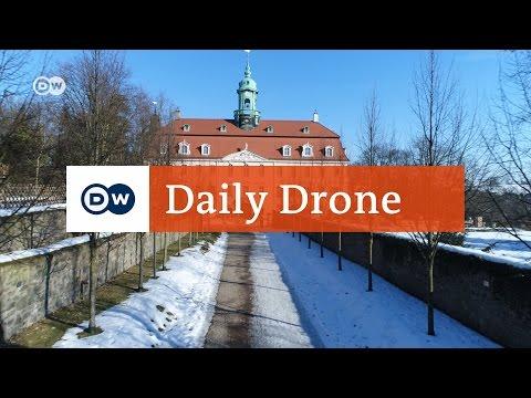#DailyDrone: Lichtenwalde Palace & gardens